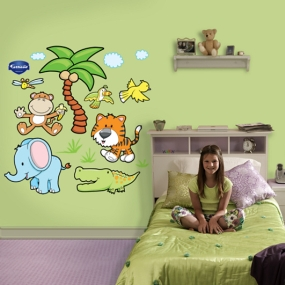 Jungle Animals Group Two Fathead
