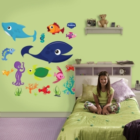 Sea Creatures Group One Fathead