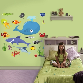 Sea Creatures Group Two Fathead
