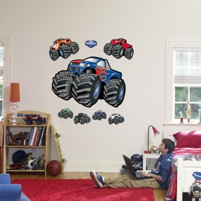 Monster Trucks Fathead