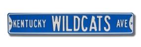 KENTUCKY WILDCATS AVE Street Sign