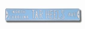 NORTH CAROLINA TAR HEELS AVE Street Sign