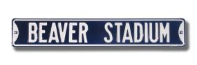 BEAVER STADIUM Street Sign
