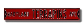 MARYLAND TERRAPINS AVE Street Sign
