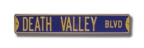 DEATH VALLEY BLVD Street Sign