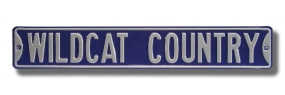 WILDCAT COUNTRY K-State Street Sign