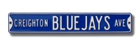 CREIGHTON BLUE JAYS AVE Street Sign