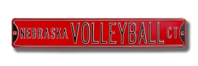 NEBRASKA VOLLEYBALL Street Sign