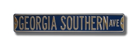 GEORGIA SOUTHERN AVE Street Sign
