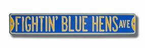 FIGHTIN' BLUE HENS AVE Street Sign