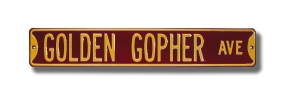 GOLDEN GOPHER AVE Street Sign