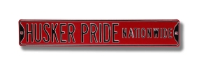 HUSKER PRIDE NATIONWIDE Street Sign