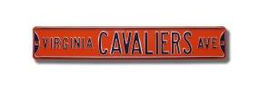 VIRGINIA CAVALIERS AVE Street Sign