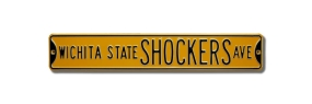 WICHITA STATE SHOCKERS AVE Street Sign