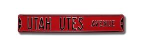 UTAH UTES AVENUE Street Sign