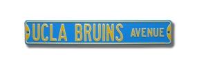 UCLA BRUINS AVE Street Sign