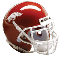 Schutt Sports Arkansas Razorbacks Full Size Replica Helmet