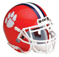 Schutt Sports Clemson Tigers Full Size Replica Helmet