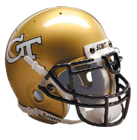 Schutt Sports Georgia Tech Yellow Jackets Full Size Replica Helmet