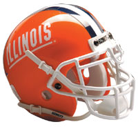 Schutt Sports Illinois Fighting Illini Full Size Replica Helmet
