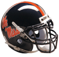 Schutt Sports Mississippi Rebels Full Size Replica Helmet