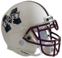 Schutt Sports Mississippi State Bulldogs Full Size Replica Helmet