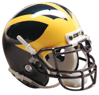 Schutt Sports Michigan Wolverines Full Size Replica Helmet