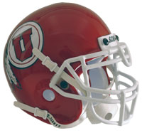 Schutt Sports Utah Utes Full Size Replica Helmet