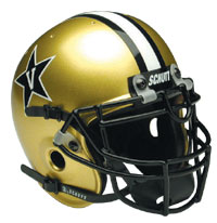 Schutt Sports Vanderbilt Commodores Full Size Replica Helmet