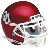 Schutt Sports Oklahoma Sooners Full Size Replica Helmet