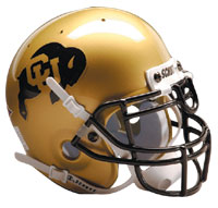 Schutt Sports Colorado Buffaloes Full Size Replica Helmet