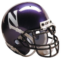 Schutt Sports Northwestern Wildcats Full Size Replica Helmet