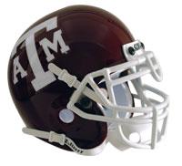 Schutt Sports Texas A&M Aggies Full Size Replica Helmet