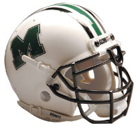 Schutt Sports Marshall Thundering Herd Full Size Replica Helmet