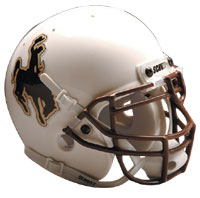 Schutt Sports Wyoming Cowboys Full Size Replica Helmet