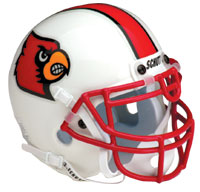 Schutt Sports Louisville Cardinals Full Size Replica Helmet