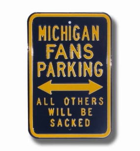 MICHIGAN SACKED Parking Sign