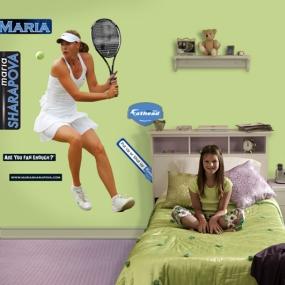 Maria Sharapova Swing Fathead