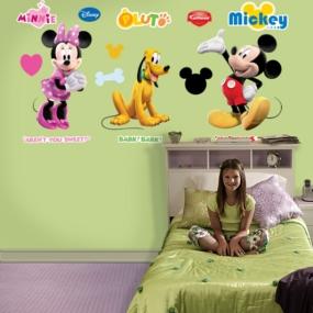 Mickey, Minnie & Pluto Fathead