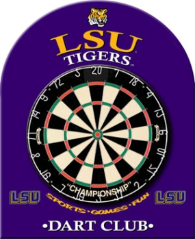 LSU Tigers Dart Backboard