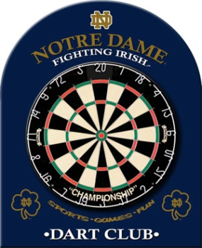 Notre Dame Fighting Irish Dart Backboard