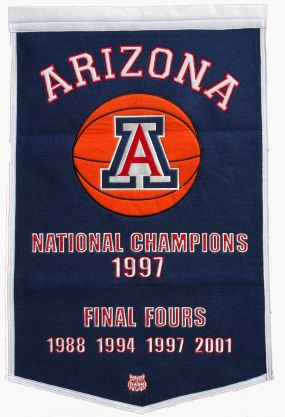 Arizona Wildcats Dynasty Banner