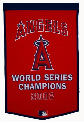Anaheim Angels Dynasty Banner