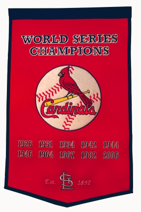 Saint Louis Cardinals Dynasty Banner