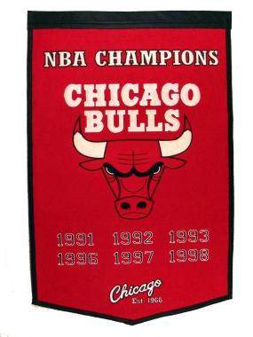 Chicago Bulls Banner Dynasty Banner