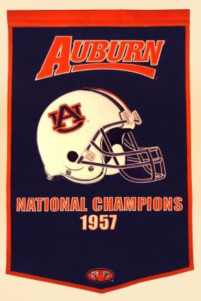 Auburn Tigers Dynasty Banner