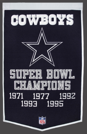 Dallas Cowboys Banner #2 Dynasty Banner