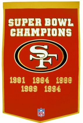 San Francisco 49ers Banner Dynasty Banner
