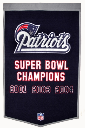 New England Patriots Banner Dynasty Banner