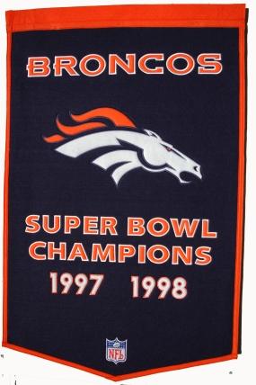 Denver Broncos Banner Dynasty Banner